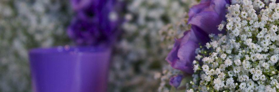 fiori scelti per ogni ricevimento
