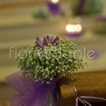 Piccoli bouquet floreali per addobbo chiesa