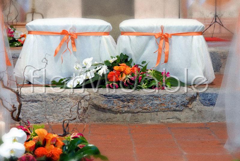 Decorazioni Matrimonio Arancione : Matrimoni e bouquet sposa con fiori arancio pesca giallo flormidable