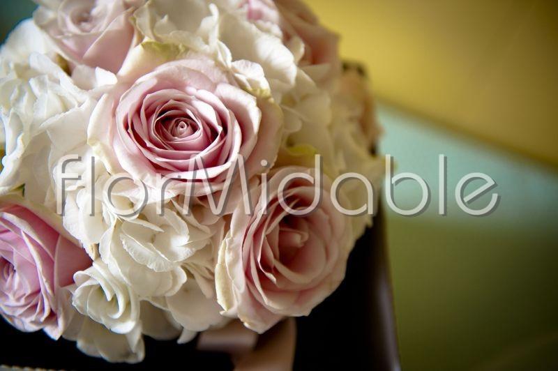 Ortensie Rosa Cipria : Fiori rosa e cipria per matrimonio bouquet da sposa