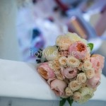 Bouquet elegante e romantico con rose David Austin