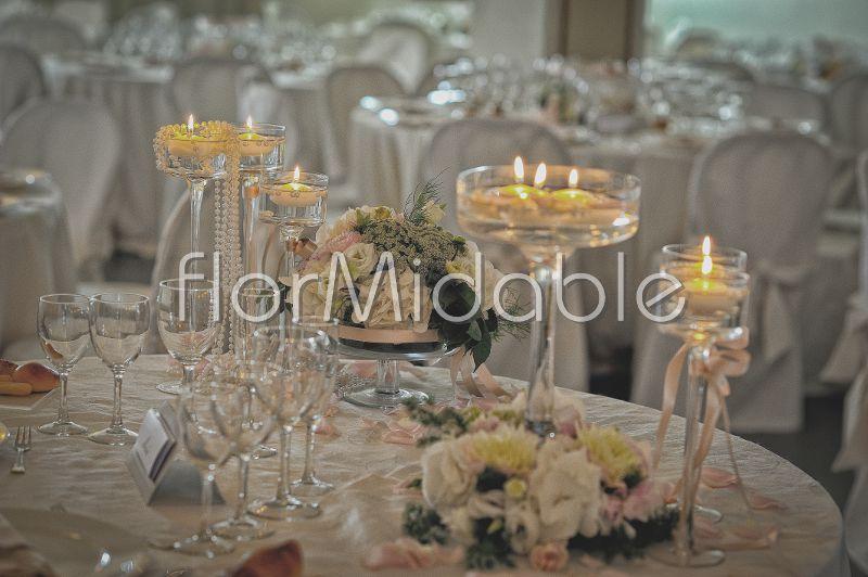 Ben noto centrotavola matrimonio eleganti, romantici, moderni, shabby  VM55
