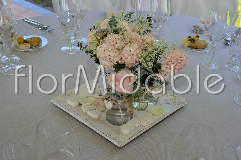 Matrimonio In Rosa Cipria : Centrotavola matrimonio eleganti romantici moderni