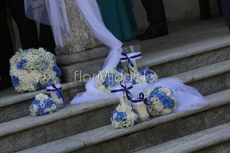 Decorazioni Matrimonio Azzurro : Matrimoni e bouquet da sposa con fiori blu tiffany azzurro