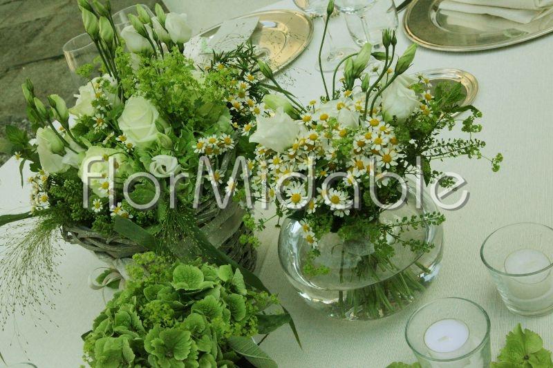 Fiori verdi per addobbi floreali matrimonio e bouquet  ~ Verde Fiori Quarto
