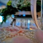 Perle e dettagli decorativi eleganti per ricevimento in villa