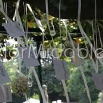 Tableau mariage sospeso con camomille e erbe aromatiche