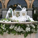 allestimenti con lanterne per matrimoni in villa