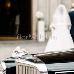 Composizioni floreali ingresso sposa