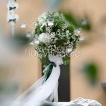 candelabri fioriti per addobbi e scenografie nel giorno delle nozze