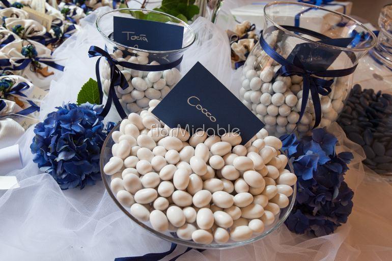 Ortensie Blu : Bracciali coroncine accessori floreali per matrimonio
