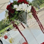 Vasi Martini per adobbi eleganti con orchidee