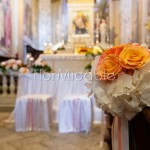 Matrimonio nelle tonalità pastello con rose e peonie