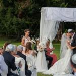 Cerimonia con rito ebraico giardini Villa Muggia