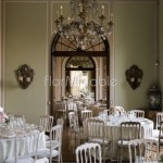 Addobbo saloni Villa Muggia