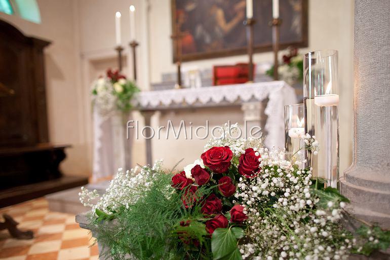 Matrimonio Tema Rose Rosse : Addobbi floreali matrimoni e bouquet sposa con fiori rossi