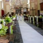 Addobbo matrimonio fiori verdi lago Maggiore