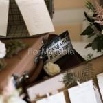 dettagli floreali addobbo tableau mariage viintage