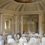 Allestimento ricevimento romantico Villa Passalacqua