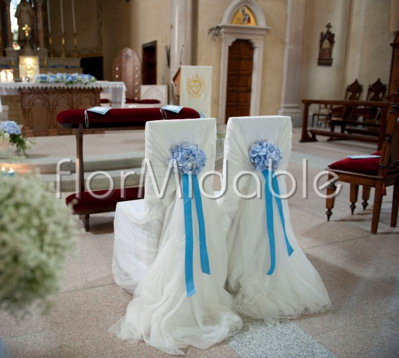 Estremamente Matrimoni e bouquet da sposa con fiori blu, tiffany, azzurro  TM53