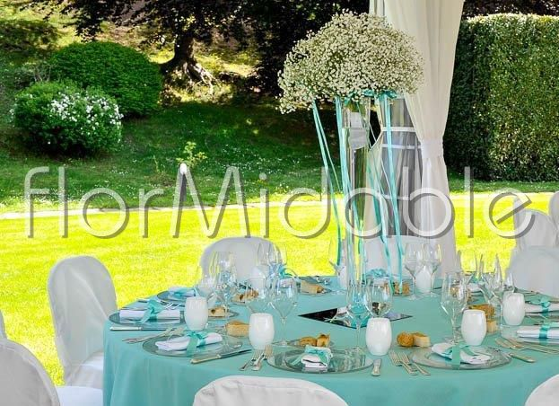 abbastanza Matrimoni e bouquet da sposa con fiori blu, tiffany, azzurro  VW61