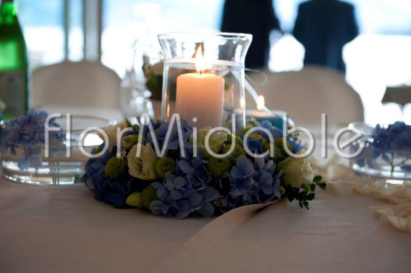 Fiori Ortensie Bianche : Matrimoni e bouquet da sposa con fiori blu tiffany