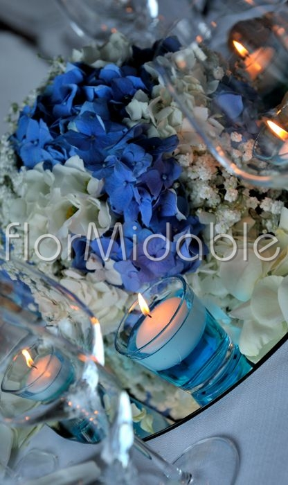Ortensie Blu : Matrimoni e bouquet da sposa con fiori blu tiffany