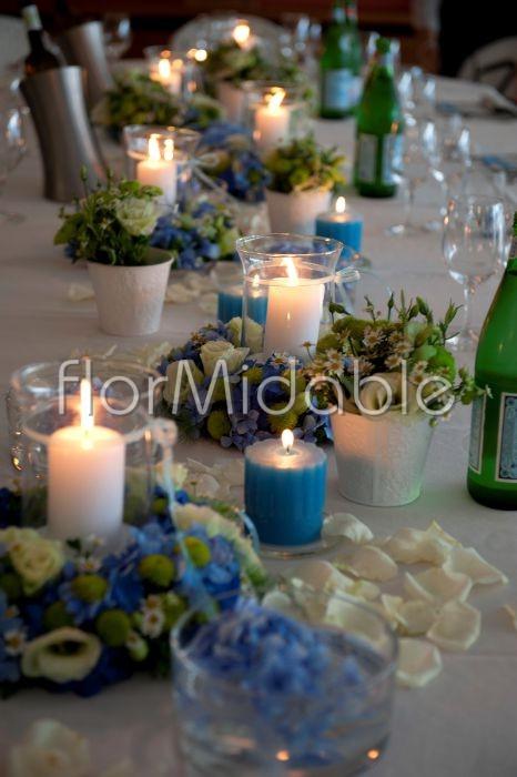 Centrotavola Matrimonio Azzurro : Matrimoni e bouquet da sposa con fiori blu tiffany